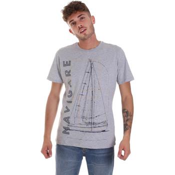 Odjeća Muškarci  Majice kratkih rukava Navigare NV31109 Siva
