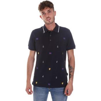 Odjeća Muškarci  Polo majice kratkih rukava Navigare NV82120 Plava