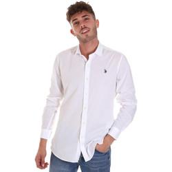 Odjeća Muškarci  Košulje dugih rukava U.S Polo Assn. 58835 50655 Bijela