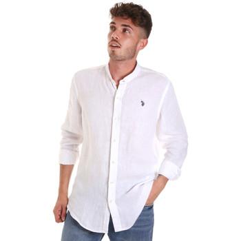Odjeća Muškarci  Košulje dugih rukava U.S Polo Assn. 58667 50816 Bijela
