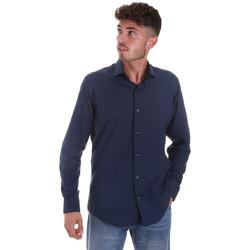 Odjeća Muškarci  Košulje dugih rukava Les Copains 18P.884 P3196SL Plava