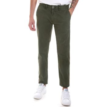 Odjeća Muškarci  Chino hlačei hlače mrkva kroja Gaudi 821FU25013 Zelena