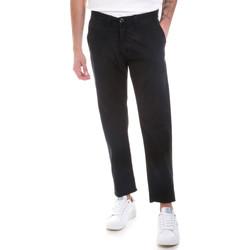 Odjeća Muškarci  Chino hlačei hlače mrkva kroja Gaudi 821BU25007 Crno