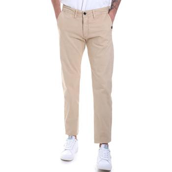 Odjeća Muškarci  Chino hlačei hlače mrkva kroja Gaudi 821BU25007 Bež