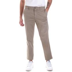 Odjeća Muškarci  Chino hlačei hlače mrkva kroja Navigare NV55177 Bež
