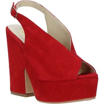 Obuća Žene  Sandale i polusandale Grace Shoes ALBA 107 Crvena