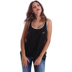 Odjeća Žene  Majice s naramenicama i majice bez rukava Fornarina BE17T523CA05E9 Crno