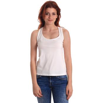 Odjeća Žene  Majice s naramenicama i majice bez rukava Fornarina BE175L04JG0709 Bijela