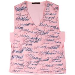 Odjeća Žene  Majice s naramenicama i majice bez rukava Fornarina BERT486C97366 Ružičasta