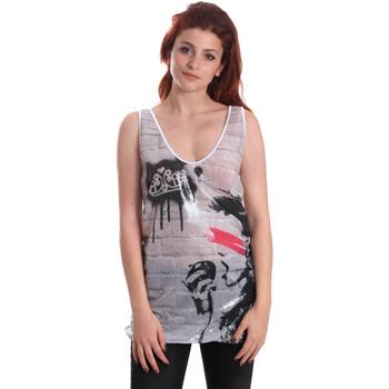Odjeća Žene  Majice s naramenicama i majice bez rukava Fornarina SE175J67H27509 Bijela