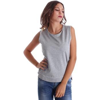 Odjeća Žene  Majice s naramenicama i majice bez rukava Fornarina SE17T524F42990 Siva