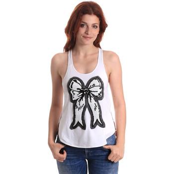Odjeća Žene  Majice s naramenicama i majice bez rukava Fornarina SE17T517JG0709 Bijela