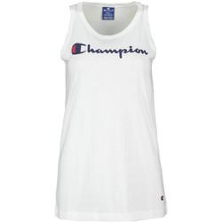 Odjeća Žene  Majice s naramenicama i majice bez rukava Champion 111791 Bijela