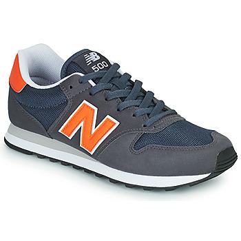 Obuća Muškarci  Niske tenisice New Balance 500 Blue / Narančasta