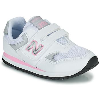 Obuća Djevojčica Niske tenisice New Balance 393 Bijela / Ružičasta