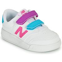 Obuća Djevojčica Niske tenisice New Balance COURT Bijela / Ružičasta