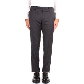 Odjeća Muškarci  Chino hlačei hlače mrkva kroja Incotex 1T0030 1393T Grey