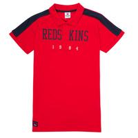 Odjeća Dječak  Polo majice kratkih rukava Redskins PO180117-RED Red