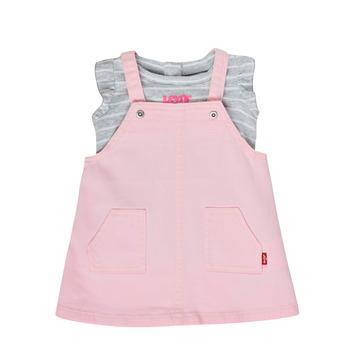 Odjeća Djevojčica Dječji kompleti Levi's 1ED091-A4U Ružičasta
