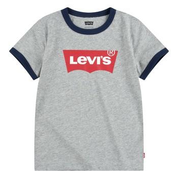 Odjeća Dječak  Majice kratkih rukava Levi's BATWING RINGER TEE Siva