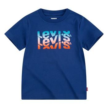 Odjeća Dječak  Majice kratkih rukava Levi's 8EC826-U29 Blue