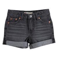 Odjeća Djevojčica Bermude i kratke hlače Levi's 3E4536-D0K Siva