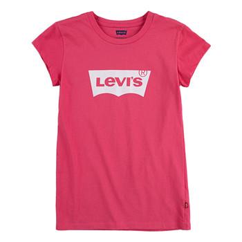 Odjeća Djevojčica Majice kratkih rukava Levi's BATWING TEE SS Ružičasta