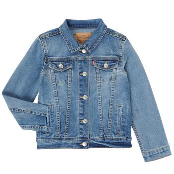 Odjeća Djevojčica Traper jakne Levi's 3E4388-M0K Blue