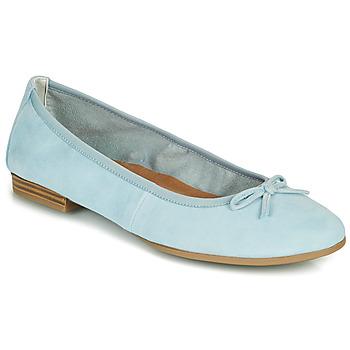 Obuća Žene  Balerinke i Mary Jane cipele Tamaris ALENA Blue