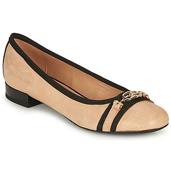 Obuća Žene  Balerinke i Mary Jane cipele Geox D WISTREY D Bež / Crna