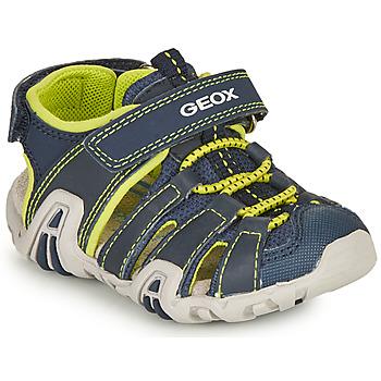 Obuća Dječak  Sportske sandale Geox SANDAL KRAZE Blue