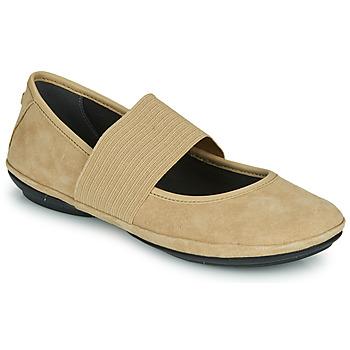Obuća Žene  Balerinke i Mary Jane cipele Camper RIGHT NINA Bež