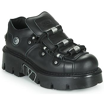 Obuća Derby cipele New Rock M-233-C3 Crna
