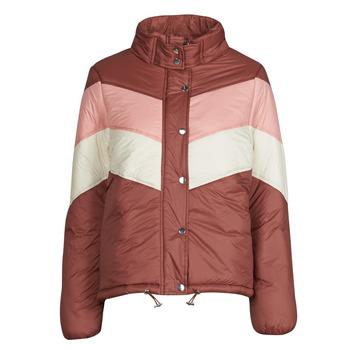 Odjeća Žene  Pernate jakne Deeluxe CLAUDINE Red / Ružičasta