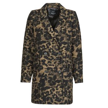Odjeća Žene  Kratke jakne Deeluxe LEA Smeđa / Crna