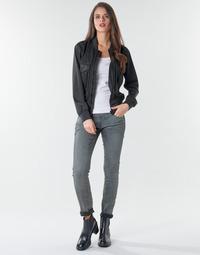 Odjeća Žene  Skinny traperice G-Star Raw 3301 Low Skinny Wmn Dark / Aged / Cobler