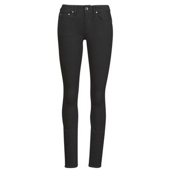 Odjeća Žene  Skinny traperice G-Star Raw Midge Zip Mid Skinny Wmn Pitch / Crna
