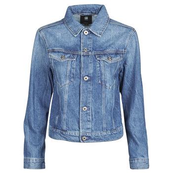 Odjeća Žene  Traper jakne G-Star Raw 3301 Straight Dnm Jkt Wmn Vybledlá / Shore