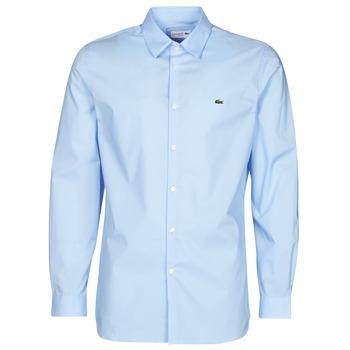 Odjeća Muškarci  Košulje dugih rukava Lacoste PITTA Blue