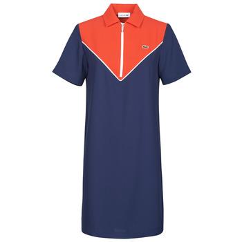 Odjeća Žene  Kratke haljine Lacoste FRITTI Red / Blue