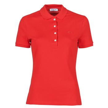 Odjeća Žene  Polo majice kratkih rukava Lacoste POLO SLIM FIT Red
