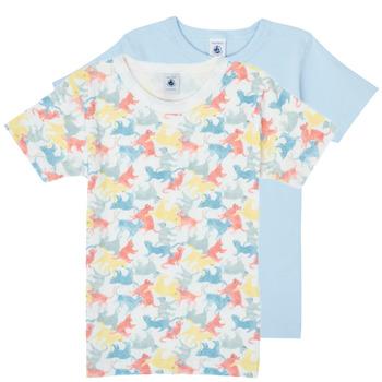 Odjeća Dječak  Majice kratkih rukava Petit Bateau MANUR Multicolour