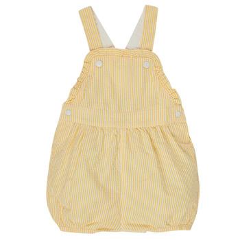 Odjeća Djevojčica Kombinezoni i tregerice Petit Bateau MERINE Žuta