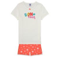 Odjeća Djevojčica Pidžame i spavaćice Petit Bateau MARSHA Multicolour