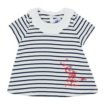 Odjeća Djevojčica Majice kratkih rukava Petit Bateau MELIANE Multicolour