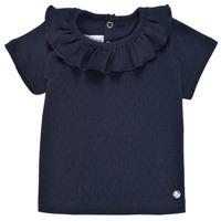 Odjeća Djevojčica Majice kratkih rukava Petit Bateau MELISSA Blue