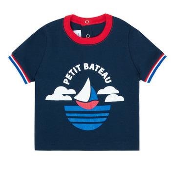 Odjeća Dječak  Majice kratkih rukava Petit Bateau MENU Blue