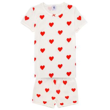 Odjeća Djevojčica Pidžame i spavaćice Petit Bateau MICOURT Multicolour