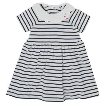 Odjeća Djevojčica Kratke haljine Petit Bateau MEGHANE Multicolour