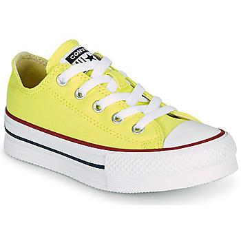 Obuća Djevojčica Niske tenisice Converse CHUCK TAYLOR ALL STAR LIFT CANVAS COLOR OX Žuta